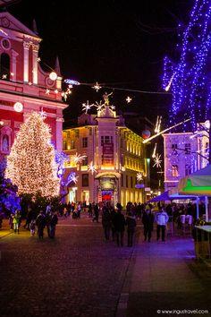 Christmas in Ljubljana,Slovenia