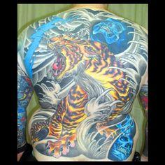 Tiger backpiece on tim