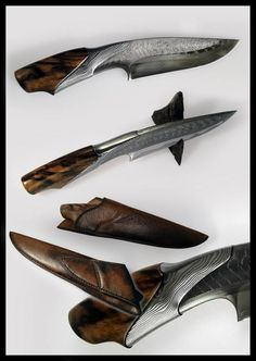 Matthieu Petitjean hand made knife. Little too fancy for my liking, but a nice craftsmanship nonetheless.