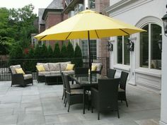 Enjoy The Outdoor Areas With Patio Umbrellas