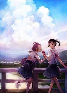 Tags: Anime, Original, Pixiv, Yuu (Plasm)