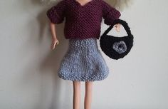 Tricoter une tenue casual pour Barbie