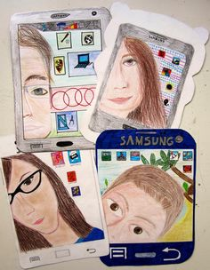 @ rts: Let's Selfie!immagin @ rts: Let's Selfie! Middle School Art Projects, Art School, Classe D'art, 8th Grade Art, Jr Art, Art Worksheets, Ecole Art, Art Lessons Elementary, Art Education Lessons