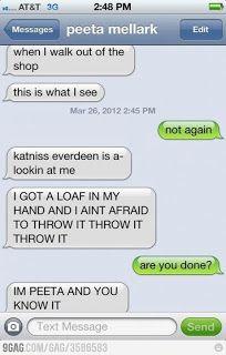 Funny autocorrects - Peeta