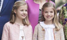 ¡Cómo han crecido! La princesa Leonor y la infanta Sofía, protagonistas de la Misa de Pascua en Palma