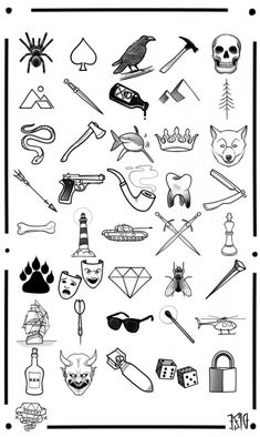 Teeny-weeny tattoos are not just for girls! Check out our selection of 80 unique and meaningful small tattoos for men and choose the right one for you! tattoo for men ▷ 1001 Ideas for Unique and Meaningful Small Tattoos for Men Small Tattoos Men, Small Black Tattoos, Beautiful Small Tattoos, Small Tattoos With Meaning, Trendy Tattoos, Tattoos For Men Simple, Tattoo Simple, Tatto For Men, Tattoos Ideas Men