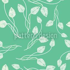Flower Dance On Mint Repeat Pattern Vector Pattern, Pattern Design, Flower Dance, Mint Green Background, Plant Vector, Starter Set, Best Bath, Green Backgrounds, Repeating Patterns
