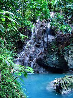 Somerset Falls in Port Antonio, Jamaica
