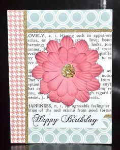 Happy Birthday card by Darla Weber