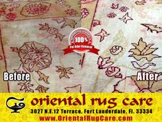 Services for Area Rug Care
