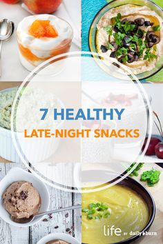 7 Snacks That Will Actually Help You Sleep Better Healthy Late Night Snacks, Healthy Bedtime Snacks, Healthy Protein Snacks, Health Snacks, Diabetic Snacks, Healthy Habits, Diet Recipes, Snack Recipes, Healthy Recipes