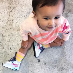 Cora in our Kid and Kind Uniform Sweat - where the cool kids shop