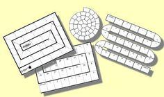 liens de téléchargement de plateaux vierges, calendriers personnalisables, et autres outils
