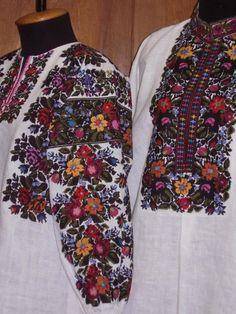 Ukraine, from Iryna Polish Embroidery, Embroidery On Clothes, Folk Fashion, Ethnic Fashion, Womens Fashion, Bohemian Costume, Ethno Style, Abaya Fashion, Folk Costume