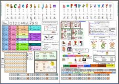 Mon sous main de CE1 - Chez Maliluno Raising Boys, Teaching French, E 10, Interactive Notebooks, Writing Skills, Worksheets, Periodic Table, Alphabet, Communication