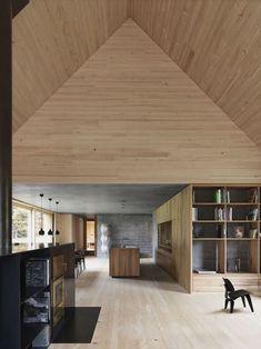Décor do dia: madeira minimalista