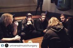 #Repost @universalmusichungary with @repostapp. ・・・ Lementek az interjúk a Kensingtonnal. Ki jön ma este az A38 Hajóra meghallgatni őket? @kensingtonband #kensington #band #concert #A38 #interview #universal #universalmusic #universalmusichungary