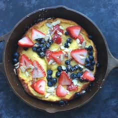 This past Sunday, Russ and I were unsure what to make for breakfast. Meal time indecision always leads me to Pinterest. :) Searching for breakfast recipes, I stumbled upon a German Pancake recipe t…
