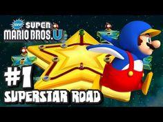 New Super Mario Bros U Wii U - Superstar Road - Part 1
