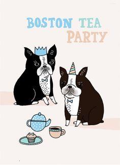 Boston Tea Party On etsy shop, Gemma correll