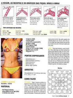 13 Fantastiche Immagini Su Costumi Alluncinetto Crochet Bikini