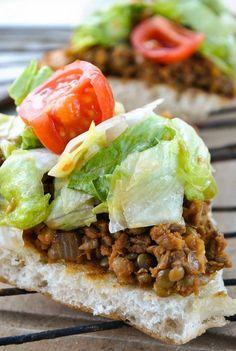 VeganSandra - tasty, cheap and easy vegan recipes by Sandra Vungi: Simple lentil and onion sandwich spread