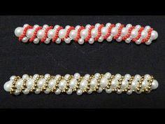 Bead Chat #16 - Chenille Stitch - A simple idea for a tubular beadwork - YouTube