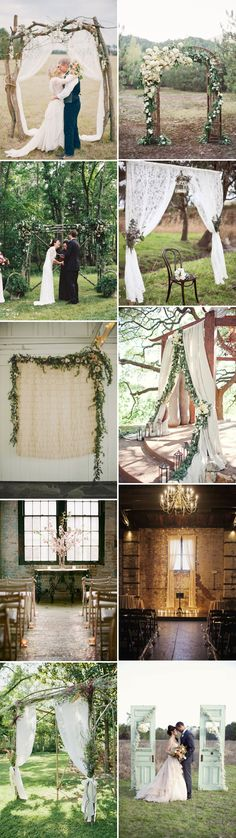 Wedding Arch Lace Arbors Ideas For 2019 Wedding Bells, Wedding Ceremony, Our Wedding, Wedding Venues, Wedding Flowers, Dream Wedding, Ceremony Arch, Wedding Arches, Wedding Backdrops
