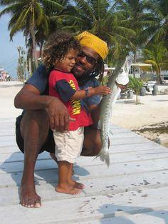 Rasta man - Caye Caulker, Cayo, #Belize lots of them here!