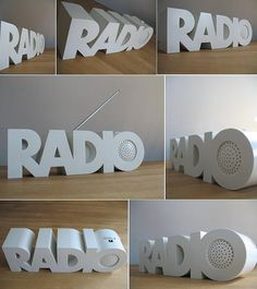 Awesome product design + lettering