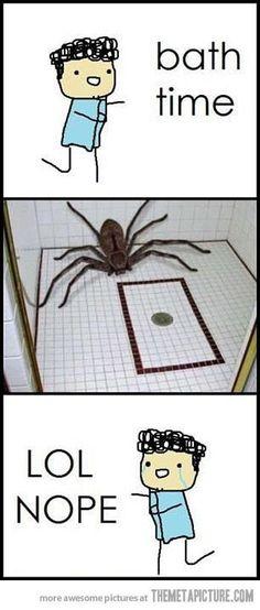 Bath Time! *Insert Huge Spider* Lol Nope!