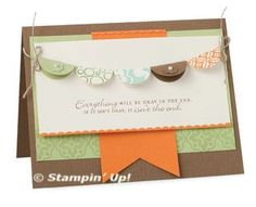 Punch Art - Casing Stampin' Up! from Flowerbug's Inkspot
