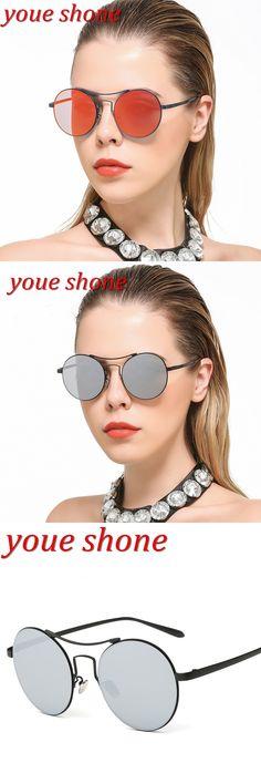 youe shone  2017 Women Polarized Sunglasses Brand Designer Cat eye Driving Sun Glasses Round Brand Designer gafas de sol mujer