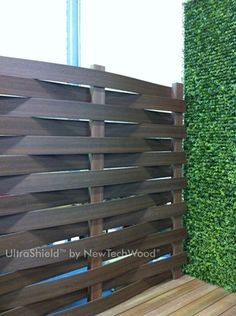 Coextruded wpc Fencing UltraShield, please visit www.newtechwood.com for more information.