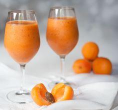 Boisson ou dessert abricots-melon, healthy Fun Drinks, Alcoholic Drinks, Juice Cleanse, Bon Appetit, Cocktails, Healthy Lifestyle, Nutrition, Healthy Recipes, Smoothie