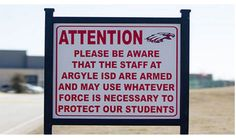 PHOTO: After Seeing A Sign A TX School Posted, I Cheered Loudly. Liberals Are Going To HATE This