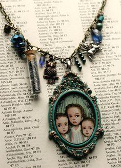 custom cameo necklace