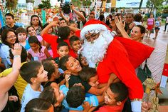 Folha certa : Programação especial de natal com Papai Noel na Pr...
