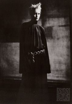 Shakespearian Couture Vogue Italia, September 1998 Photographer: Paolo Roversi Model: Kirsten Owen Jean Paul Gaultier, Fall 1998 Couture