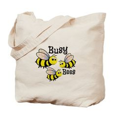 Busy Bees Tote Bag o