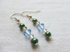 Jewelry  Elegant Swarovski Crystal Earrings by christineconrad, $8.00