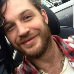 Tom looking Happy & Adorably Sexy... Looks like he's sitting in a convertible car seat & it's clear someone else- a female, maybe his wife Charlotte is/was in this pic with him but whoever posted it cut that person out- He NEVER looks bad... Love it when his smile is genuinely happy & real. Not saying he's never truly happy but after being asked to take millions of pics over the years, I'm sure he gets tired of it even tho he's 1 of the very few celebs I see who tries 2 accommodate…