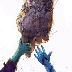 How Thanos regards Gamora, versus how he (did)regards Nebula. The first, he clai… - Marvel Fan Arts and Memes Marvel Comics, Marvel Avengers, Marvel Fanart, Films Marvel, Memes Marvel, Marvel Universe, Gamora And Nebula, Nebula Marvel, Mundo Comic