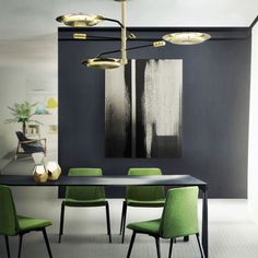 From dining room lighting ideas to modern dining room decor, these mid-century dining room ideas will be just the right dining room decor tips for Grab the right home decor inspirations right here. Decoration Inspiration, Dining Room Inspiration, Interior Design Inspiration, Decor Ideas, Mid Century Modern Lighting, Creation Deco, Dining Room Lighting, Bedroom Lighting, Office Lighting