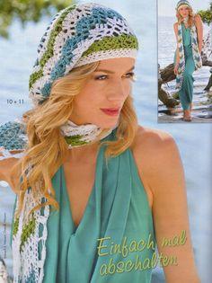 bonnets - Bonnets et Echarpes au Crochet Crochet Summer Hats, Crochet Cap, Crochet Scarves, Slouchy Beanie Hats, Beret, Chapeaux Bonnet Slouchy, Chevron, Hat And Scarf Sets, Crochet Accessories