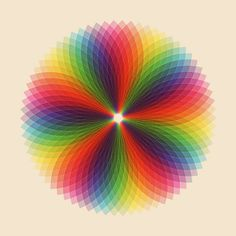 Reminds me of Spirograph! Anybody remember Spirograph? Images Of Colours, Spirograph, Geometric Art, Geometric Patterns, Color Theory, Fractal Art, Optical Illusions, Sacred Geometry, Rainbow Colors