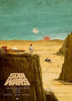 The Geeky Nerfherder: Cool Art: 'Star Wars' Original Trilogy by Mainger (Gallery at link.)