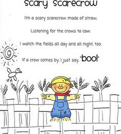 1000 Images About Preschool Scarecrows On Pinterest