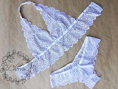 "Ооооо да!!! Он великолепен 👌🏻🤗 обожаю крупный рисунок у кружева, на мой взгляд он ""округляет"" грудь. #sweet_cherris_ #кружевноебелье… Pretty Lingerie, Sheer Lingerie, Babydoll Lingerie, Lingerie Sleepwear, Women Lingerie, Nightwear, Underwear Pattern, Cute Underwear, Diy Bralette"