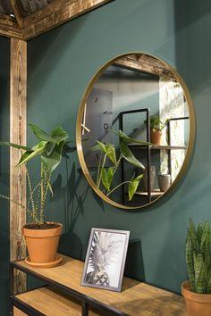 Spinder Design Donna 5 - Spiegel - Rond - ø cm - Goud - Spinder Design Donna 5 - Spiegel - Rond - ø cm - Goud - House Design, Spiegel Gold, Mirror Gallery Wall, Wall Mirror, New Room, Decoration, Interior Design Living Room, Room Inspiration, Colors